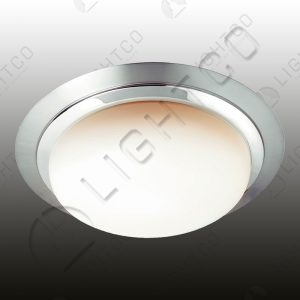 CEILING LIGHT CLOSED TWO TONE