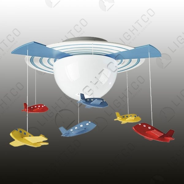 KIDDIES CEILING LIGHT AEROPLANES