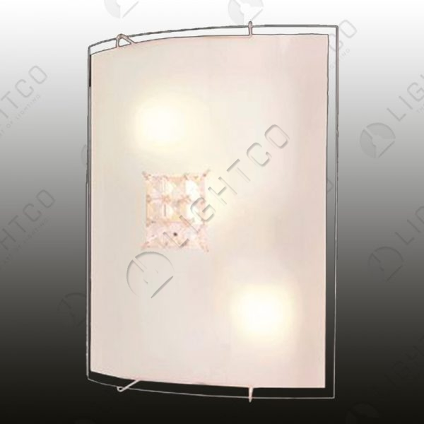 CEILING LIGHT CRYSTAL SQUARE LARGE