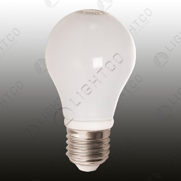 LED ROUND FROSTED W/W