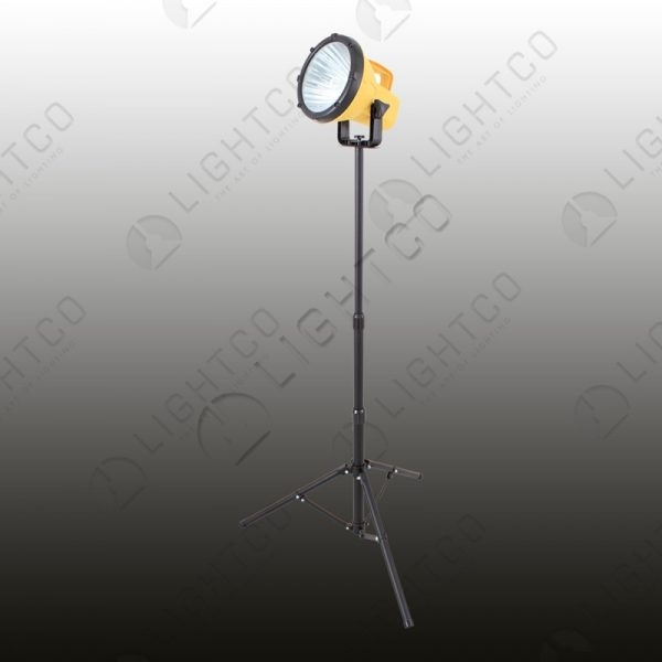 FLOODLIGHT AND ADJUSTABLE TRIPOD
