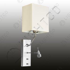 WALL LIGHT SQUARE SHADE + FLEXI LED