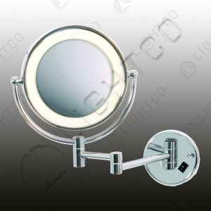 WALL LIGHT DOUBLE SIDED MAGNIFIER