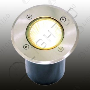 GROUND LIGHT ROUND RECESSED