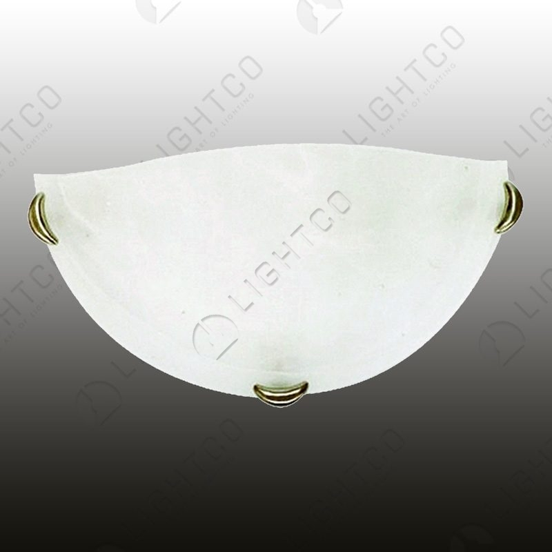 WALL LIGHT WITH SATIN CHROME CLIPS