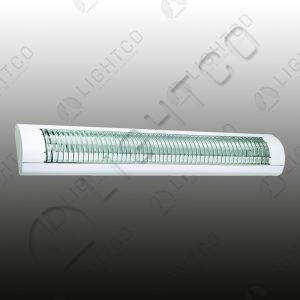 FLUORESCENT ANTI GLARE REFLECTOR LONG