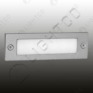FOOT LIGHT RECESSED DOWNFACE RECTANGLE