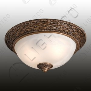 CEILING LIGHT CLOSED BASKET DETAIL