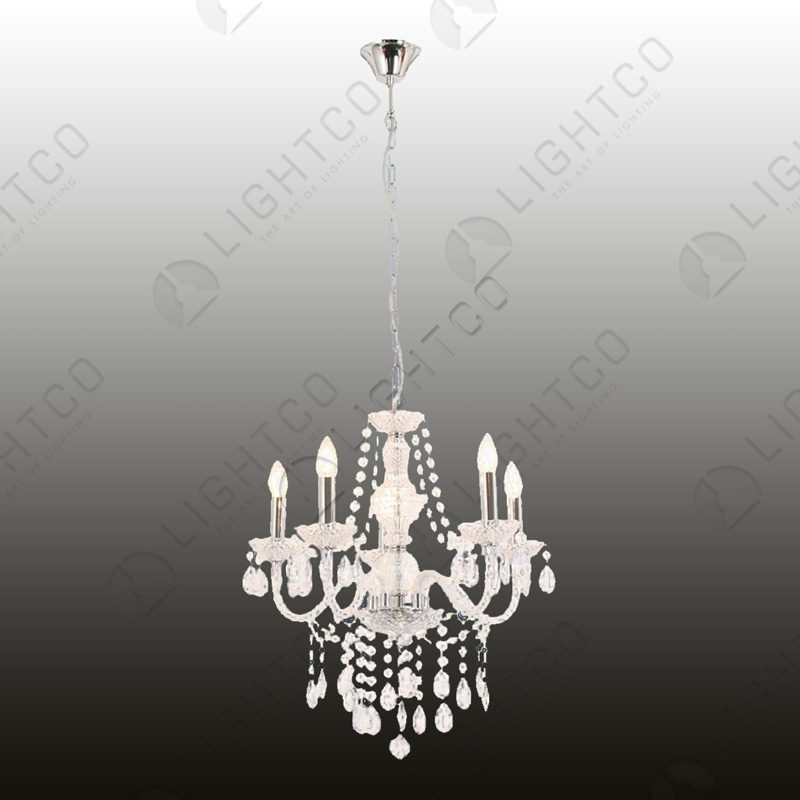 asking for a letter of recommendation chandelier 5 light acrylic crystals lightco 20514 | p 2 0 5 1 4 20514 thickbox default CHANDELIER 5 LIGHT ACRYLIC CRYSTALS