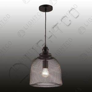 PENDANT WIRE CAGE BELL SHAPE