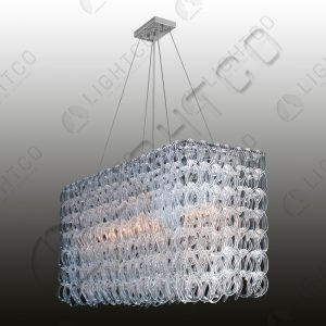 CHANDELIER GLASS LINKS RECTANGLE