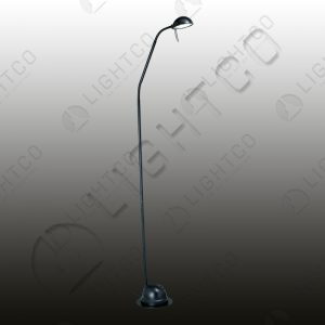 FLOOR LAMP FLEXI NECK + DUAL SWITCH