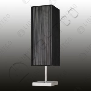 TABLE LAMP SQUARE BASE AND SHADE