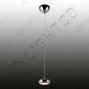 PENDANT LED SINGLE METAL WITH ACRYLIC LENS