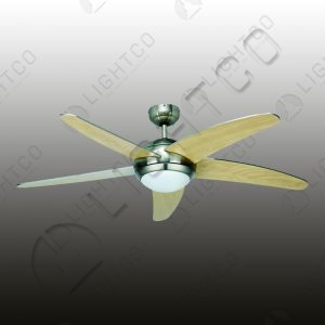 FAN 5 BLADE REMOTE CONTROLLED WITH LIGHT
