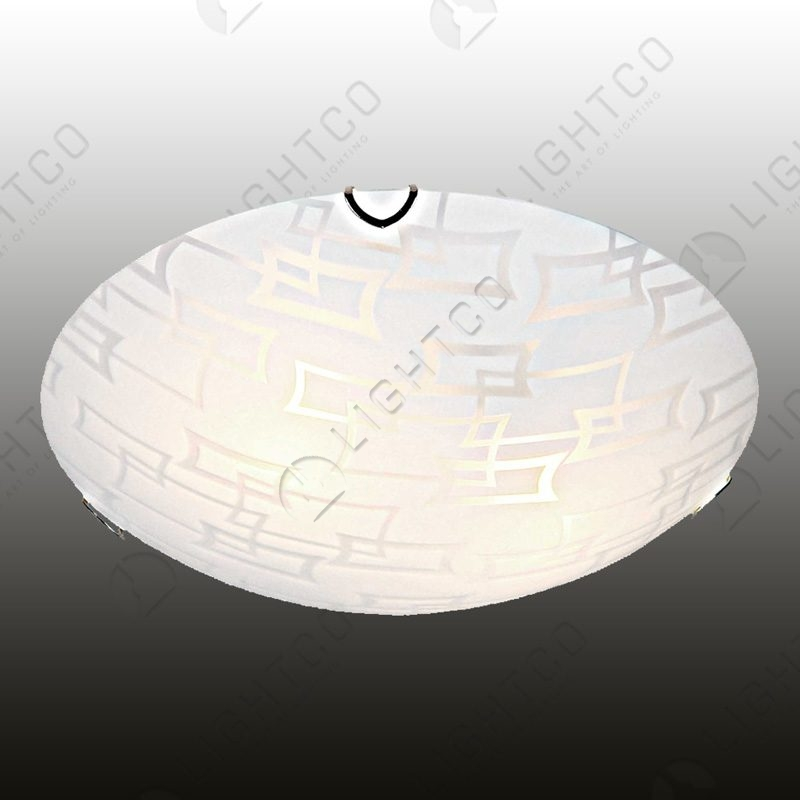 CEILING LIGHT LARGE ROUND PATTERNED