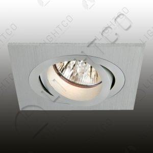 DOWNLIGHT TILT SQUARE CNC