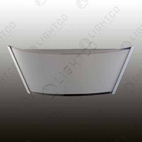 WALL LIGHT OBLONG GLASS
