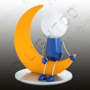 TABLE LAMP MAN ON THE MOON