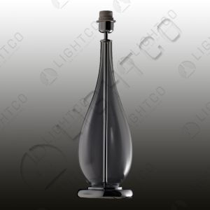 TABLE LAMP SLENDER GLASS VASE