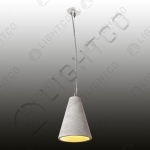 PENDANT CONCRETE CONICAL SMALL