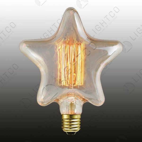 FILAMENT LAMP 40W ES STAR CAGE