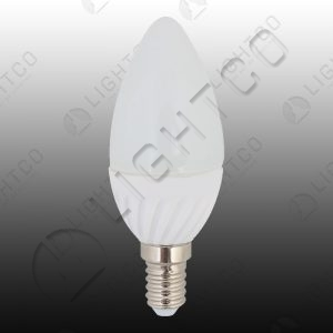 LED CANDLE 7W E14 WARM WHITE