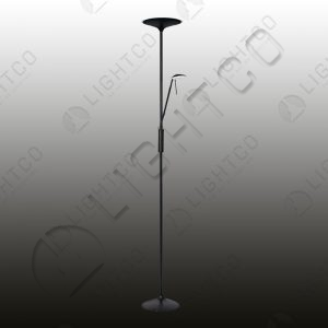 FLOOR LAMP LED AND SPOT C/W DIMMER