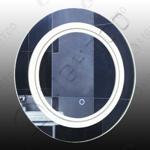 MIRROR LIGHT ROUND WITH TOUCH SWITCH