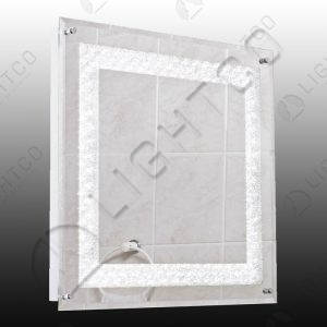 MIRROR LIGHT SQUARE WITH TOGGLE SWITCH