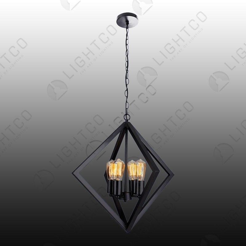PENDANT DIAMOND STRUCTURE 4 LIGHT