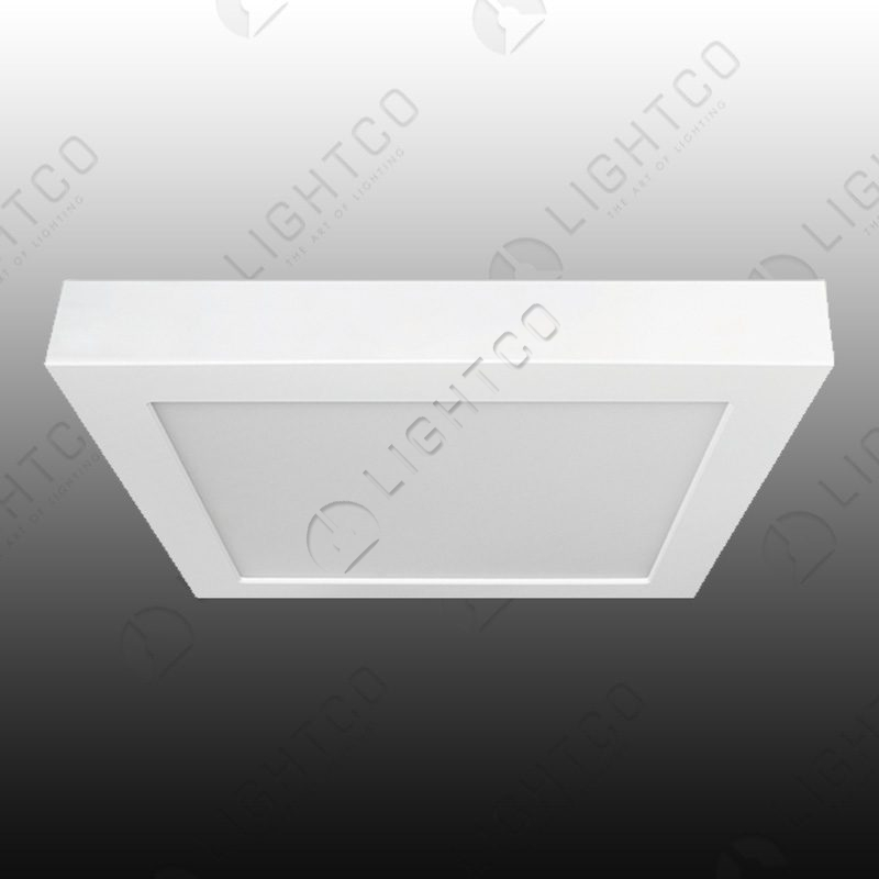 DOWNLIGHT LED SURFACE FIXED SQUARE 18W NAT WHITE