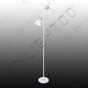 FLOOR LAMP DOUBLE SPOTLIGHT ADJUSTABLE