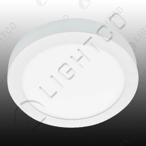 CEILING LED ROUND SURFACE WHITE