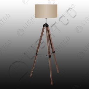 FLOOR LAMP NUT TAUPE