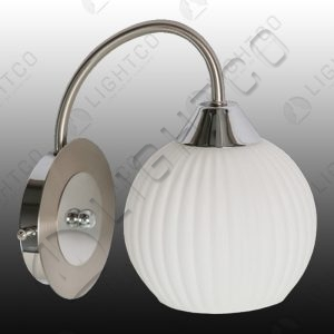 WALL LIGHT SWIRL SINGLE